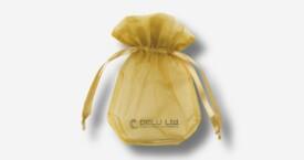 Organza Beutel Gold
