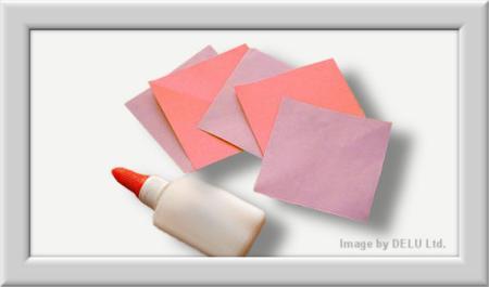 Anleitung Origami Kusudama Blume Materialen