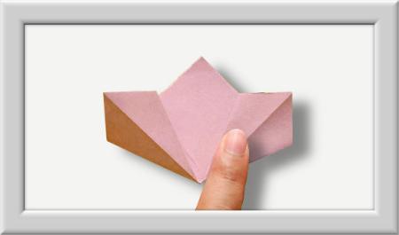 Anleitung Origami Kusudama Blume 004