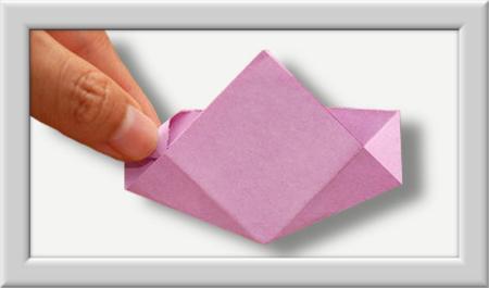 Anleitung Origami Kusudama Blume 006