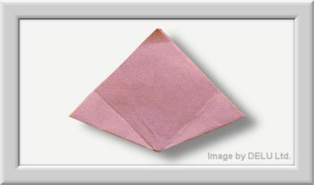 Anleitung Origami Kusudama Blume 007