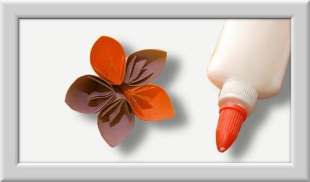 Anleitung Origami Kusudama Blume 017