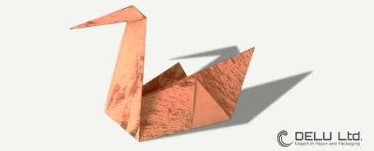 Anleitung um einen perfekten einfachen Origami Schwan zu falten