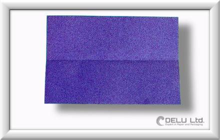 Düsenjet Papierflieger falten Schritt 004