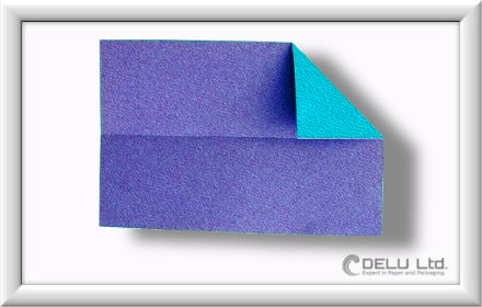 Düsenjet Papierflieger falten Schritt 005