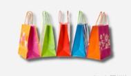 Papiertragetaschen, ein- und mehrfarbig gedruckt