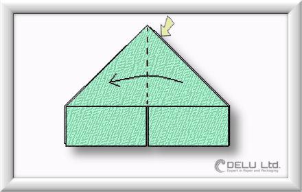 Origami Box falten Schritt 003