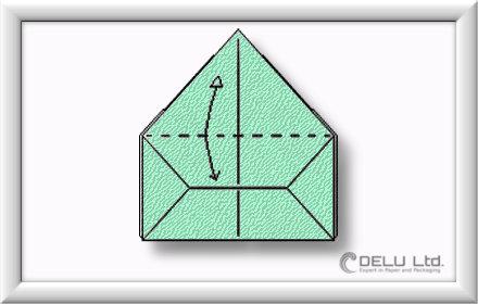 Origami Box falten Schritt 010