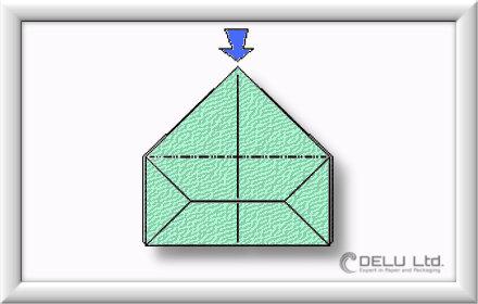 Origami Box falten Schritt 011