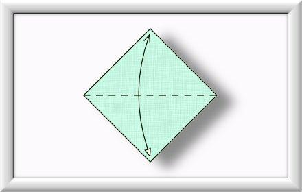 Anleitung Origami Schwan 001