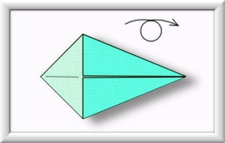 Anleitung Origami Schwan 003