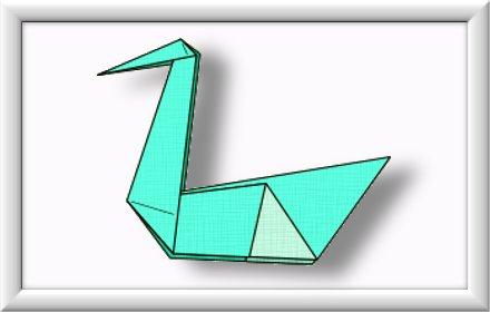 Anleitung Origami Schwan 010