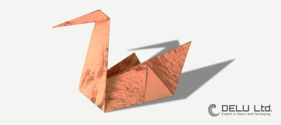 Anleitung Origami Schwan falten