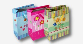 Paper Gift Bags with Artwork