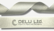 Grosgrain Ribbon ; Silver