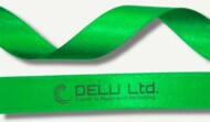 Satin Ribbon ; Green