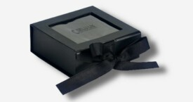 Photo box with window ; Black