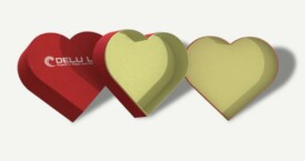 Heart shaped gift box – Red