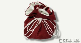 Jewellery and Travel Pouch – Burgundy