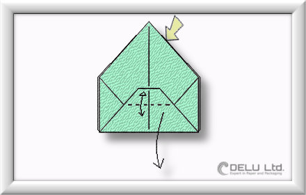 how to fold perfect Origami box step by step 007