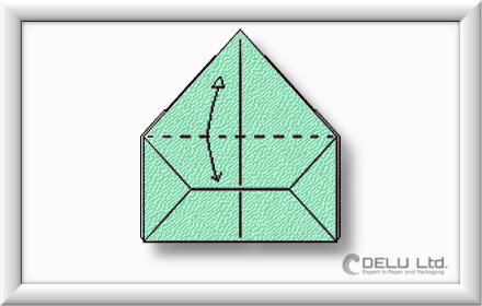how to fold perfect Origami box step by step 010