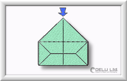 how to fold perfect Origami box step by step 011
