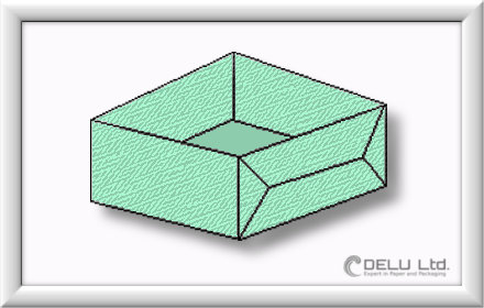 how to fold perfect Origami box step by step 012