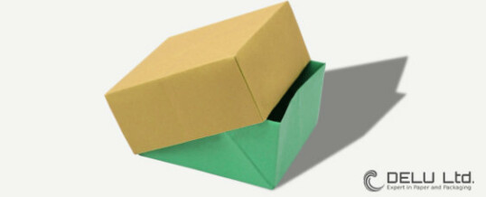Origami box step by step