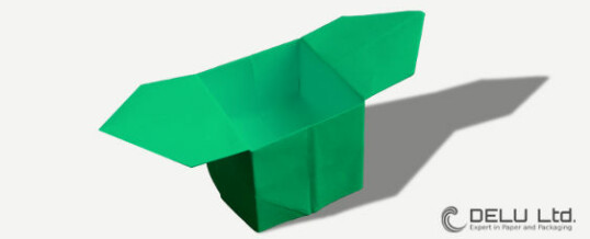 How to make a origami box with handles