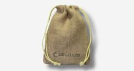 Bolsa de yute con cordón – Natural