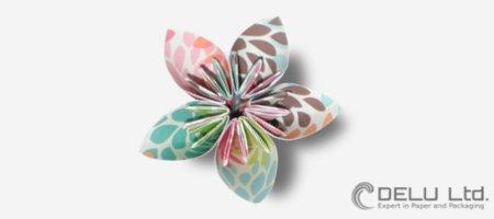 Cómo doblar una perfecta flor de Origami