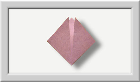 Cómo doblar Kusuduma Origami flor paso a paso-002