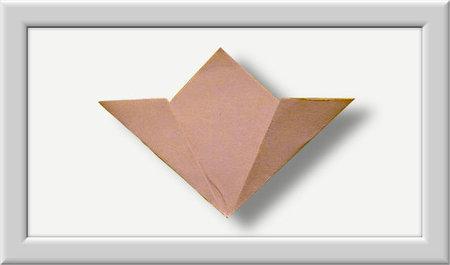 Cómo doblar Kusuduma Origami flor paso a paso-003