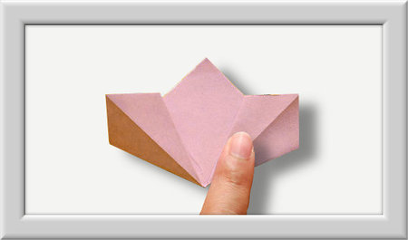 Cómo doblar Kusuduma Origami flor paso a paso-004