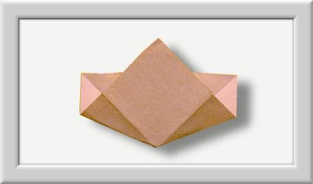 Cómo doblar Kusuduma Origami flor paso a paso-005