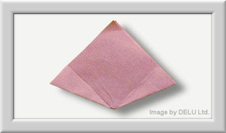 Cómo doblar Kusuduma Origami flor paso a paso-007
