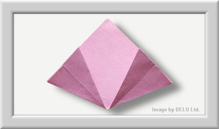 Cómo doblar Kusuduma Origami flor paso a paso-008