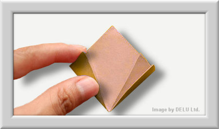 Cómo doblar Kusuduma Origami flor paso a paso-009