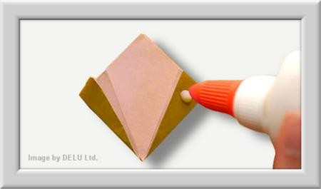 Cómo doblar Kusuduma Origami flor paso a paso-010