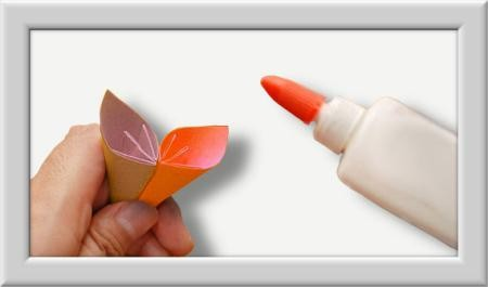 Cómo doblar Kusuduma Origami flor paso a paso-014