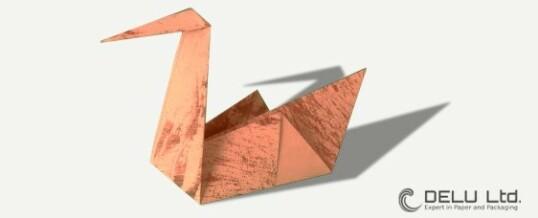 Cómo doblar un hermoso cisne de Origami tradicional