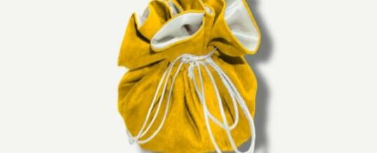 Joyería y bolsa de viaje – Amarillo