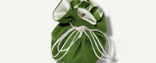 Joyería y bolsa de viaje – Verde