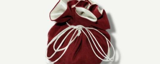 Joyería y bolsa de viaje – Rojo Borgoña