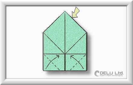 caja de origami paso a paso 005