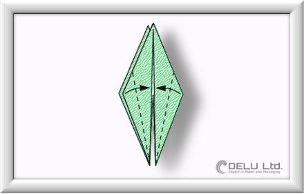 折り鶴を折る方法-少しずつ-007