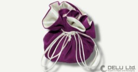 旅行やジュエリー ポーチ ; 明るい紫