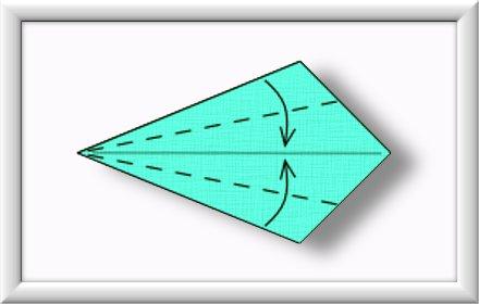 美しい伝統的な折り紙白鳥を折るには-方法-ステップ-004