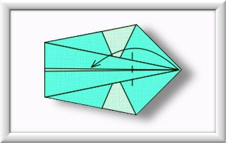 美しい伝統的な折り紙白鳥を折るには-方法-ステップ-006