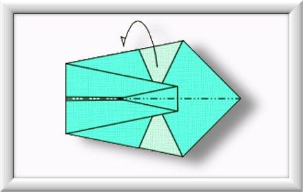 美しい伝統的な折り紙白鳥を折るには-方法-ステップ-007